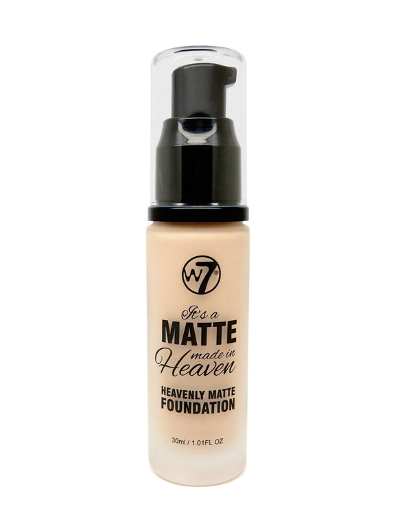W7 Heavenly Matte Foundation