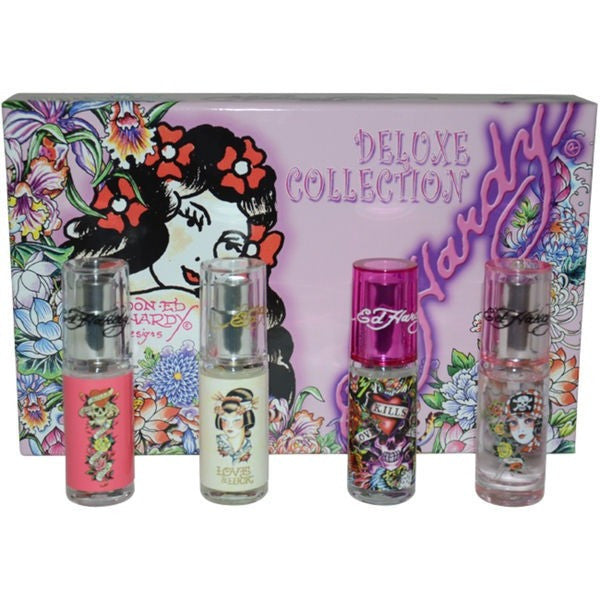 Ed Hardy Deluxe Collection for women - PALETTE Fragrances & Cosmetics