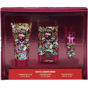 Hearts & Daggers by Ed Hardy for women - PALETTE Fragrances & Cosmetics