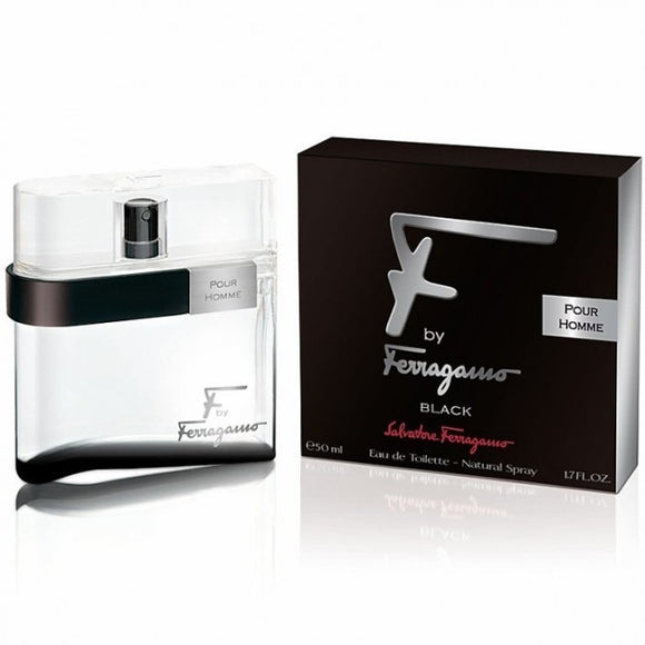 F Black by Salvatore Ferragamo for men - PALETTE Fragrances & Cosmetics