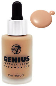 W7 Genius Foundation - PALETTE Fragrances & Cosmetics