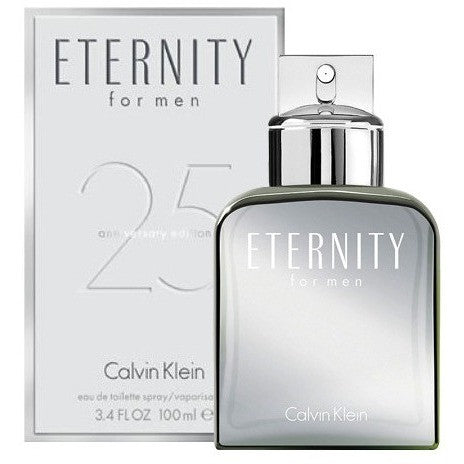 Eternity 25th Anniversary Edition by Calvin Klein for men - PALETTE Fragrances & Cosmetics