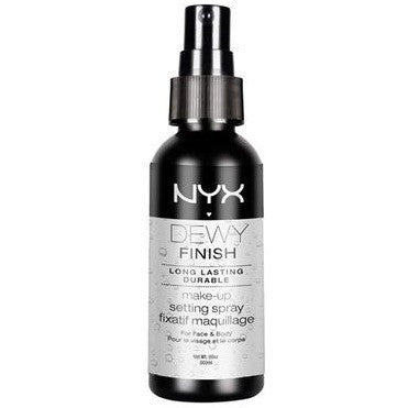 NYX Dewy Finish Setting Spray - PALETTE Fragrances & Cosmetics