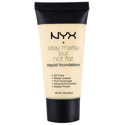 NYX Stay Matte But Not Flat Liquid Foundation - PALETTE Fragrances & Cosmetics