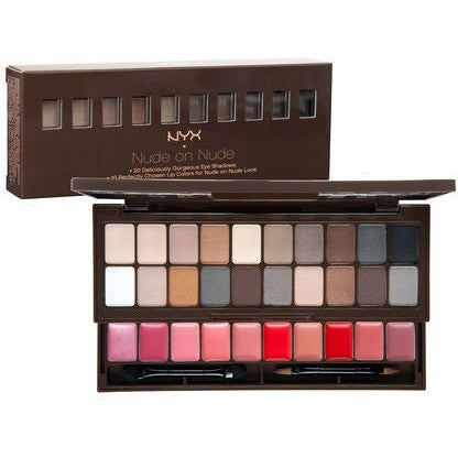 NYX Nude on Nude palette - PALETTE Fragrances & Cosmetics