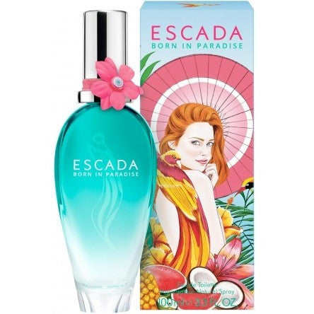 Born In Paradise by Escada for women - PALETTE Fragrances & Cosmetics