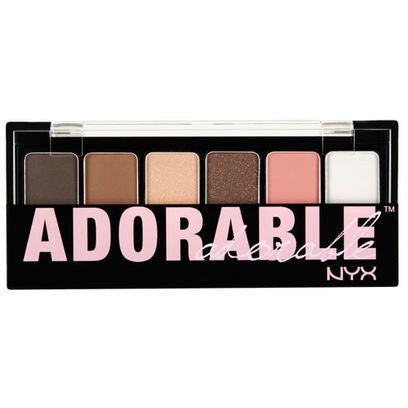 NYX Adorable Shadow Palette - PALETTE Fragrances & Cosmetics