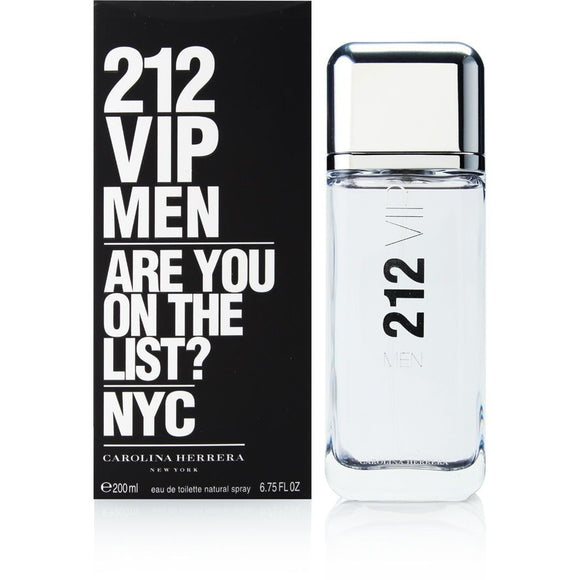 212 VIP by Carolina Herrera for men - PALETTE Fragrances & Cosmetics