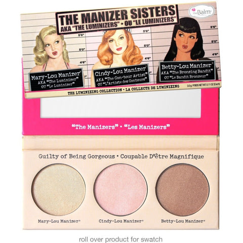 the Balm Cosmetics The Manizer Sisters Palette - PALETTE Fragrances & Cosmetics