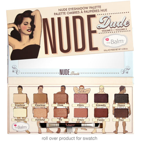the Balm Cosmetics Nude Dude Volume 2 Eyeshadow Palette - PALETTE Fragrances & Cosmetics