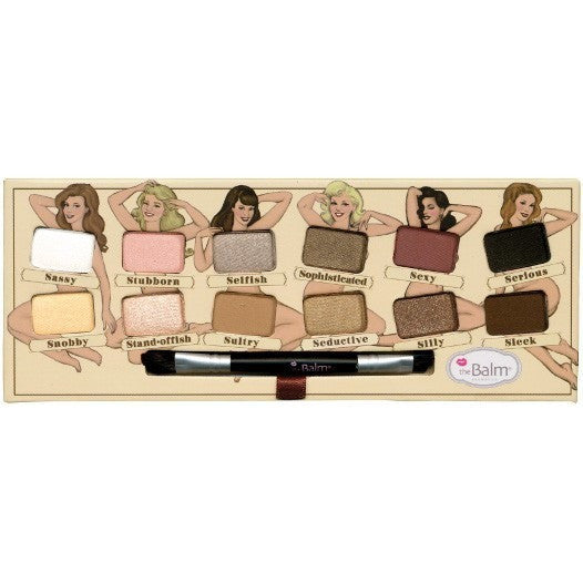 theBalm Cosmetics Nude 'Tude Eyeshadow Palette - PALETTE Fragrances & Cosmetics