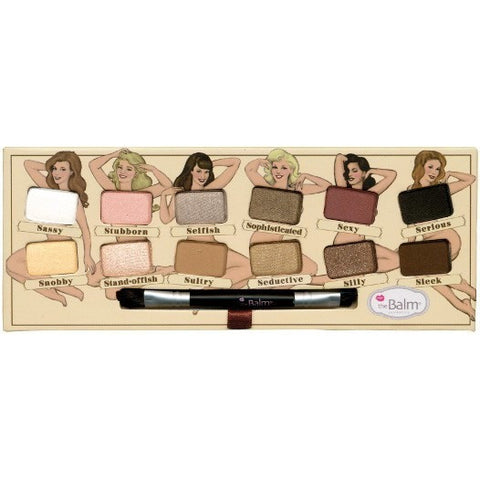 The Balm Cosmetics Nude 'Tude Eyeshadow Palette - PALETTE Fragrances & Cosmetics