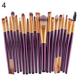 20X Makeup Set Powder Foundation Eyeshadow Eyeliner Lip Cosmetic Beauty Brushes  7214 - PALETTE Fragrances & Cosmetics