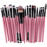 20pcs Eye Makeup Brushes Set - PALETTE Fragrances & Cosmetics