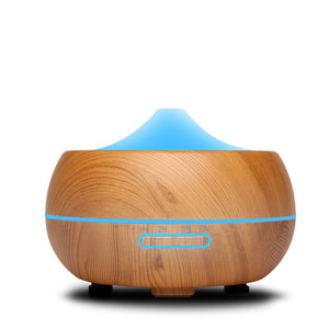 300ml Ultrasonic Humidifier Aroma Essential Oil Diffuser Cool Mist Humidifier aromatherapy diffuser With 7 Color LED - PALETTE Fragrances & Cosmetics