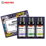 Essential Oil for Diffuser,Water-soluble Oil(10 ml) for Aromatherapy Humidifier 3 Kinds Fragrance of Lavender, Tea Tree,Lemongrass