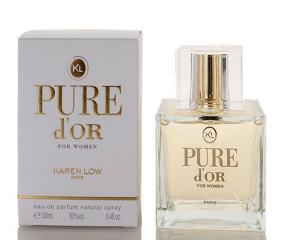 Pure D'or by Karen Low for women - PALETTE Fragrances & Cosmetics