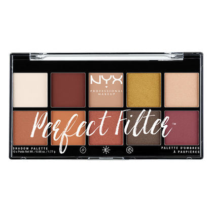 NYX Perfect Filter Shadow Palette - PALETTE Fragrances & Cosmetics