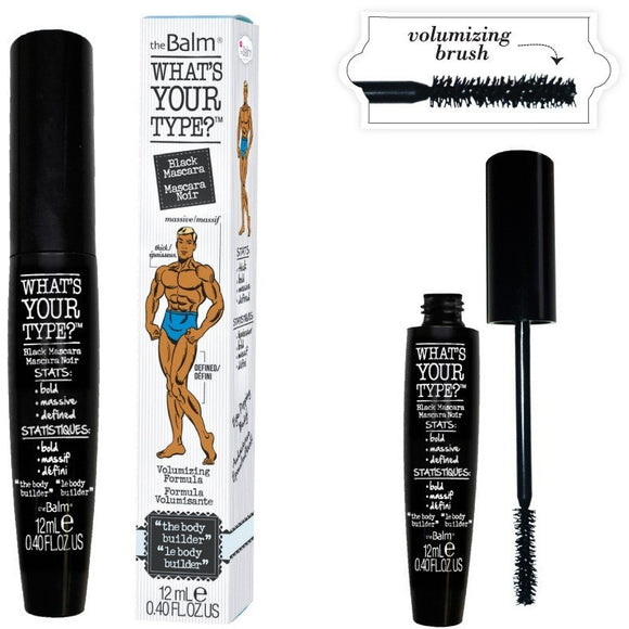 theBalm Cosmetics Whats Your Type? The Body Builder Mascara - PALETTE Fragrances & Cosmetics