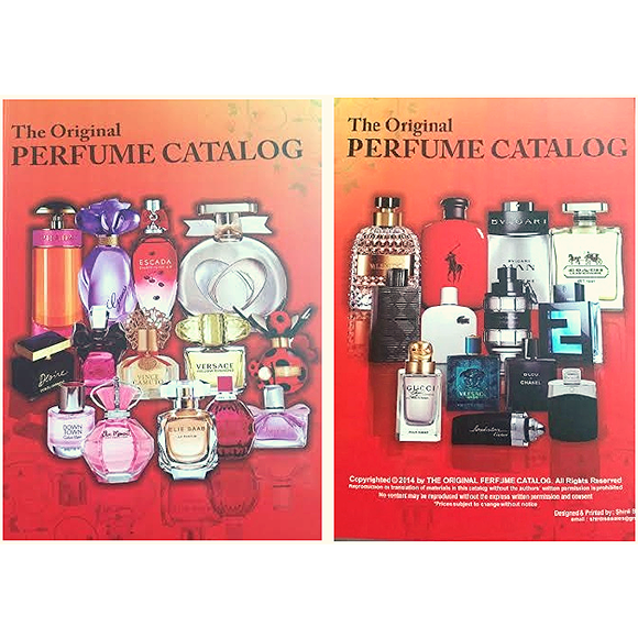 The Original Perfume Catalog - PALETTE Fragrances & Cosmetics