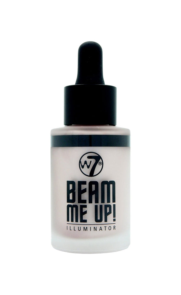 W7 Beam Me Up Illuminator - PALETTE Fragrances & Cosmetics