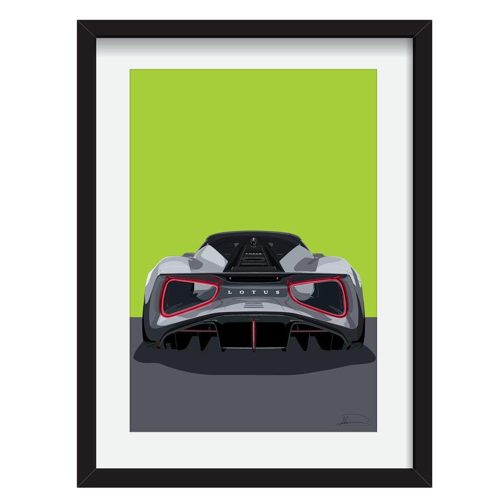 Lotus Evija  Limited Edition Artwork