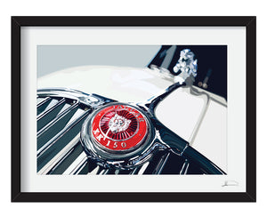 Jaguar XK150 artwork - Special offer!
