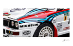 Lancia Delta Integrale Limited Edition Artwork