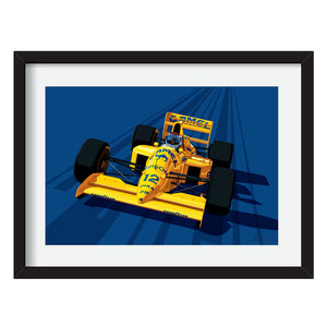 Lotus Type 101 F1 Limited Edition Artwork