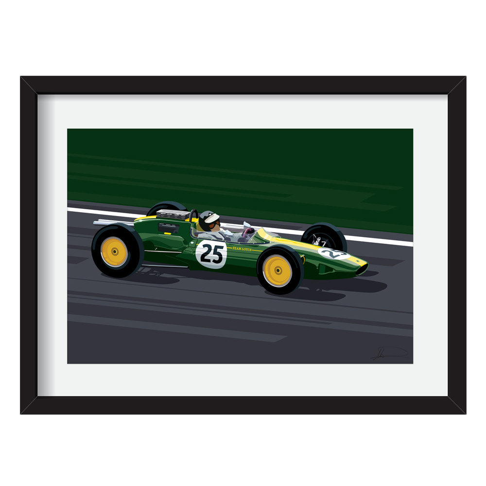 Lotus Type 25 F1 Limited Edition Artwork