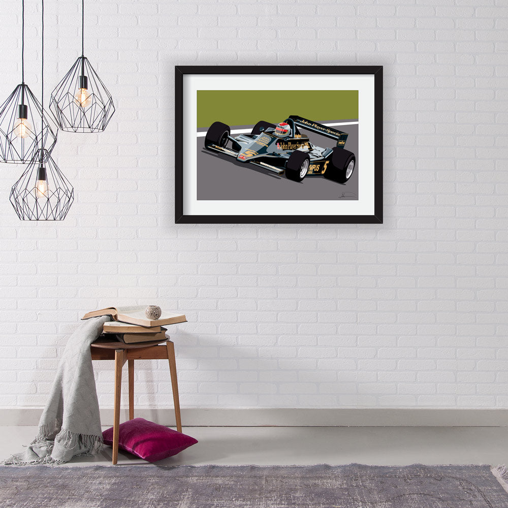 Lotus Type 79 F1 Limited Edition Artwork