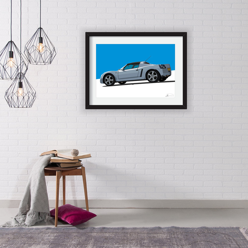 VX220 (Side) customised artwork Giclée printed