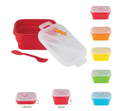 GOURMET MINI COLLAPSIBLE SILICONE LUNCH BOX