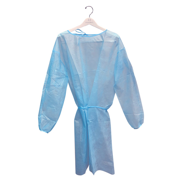 Disposable Isolation Gown - Packs of 10
