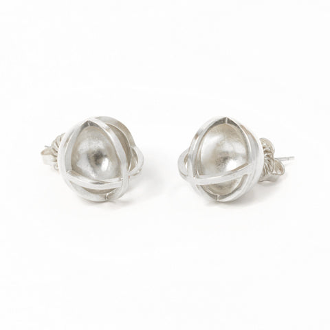 Concave Sphere Earrings