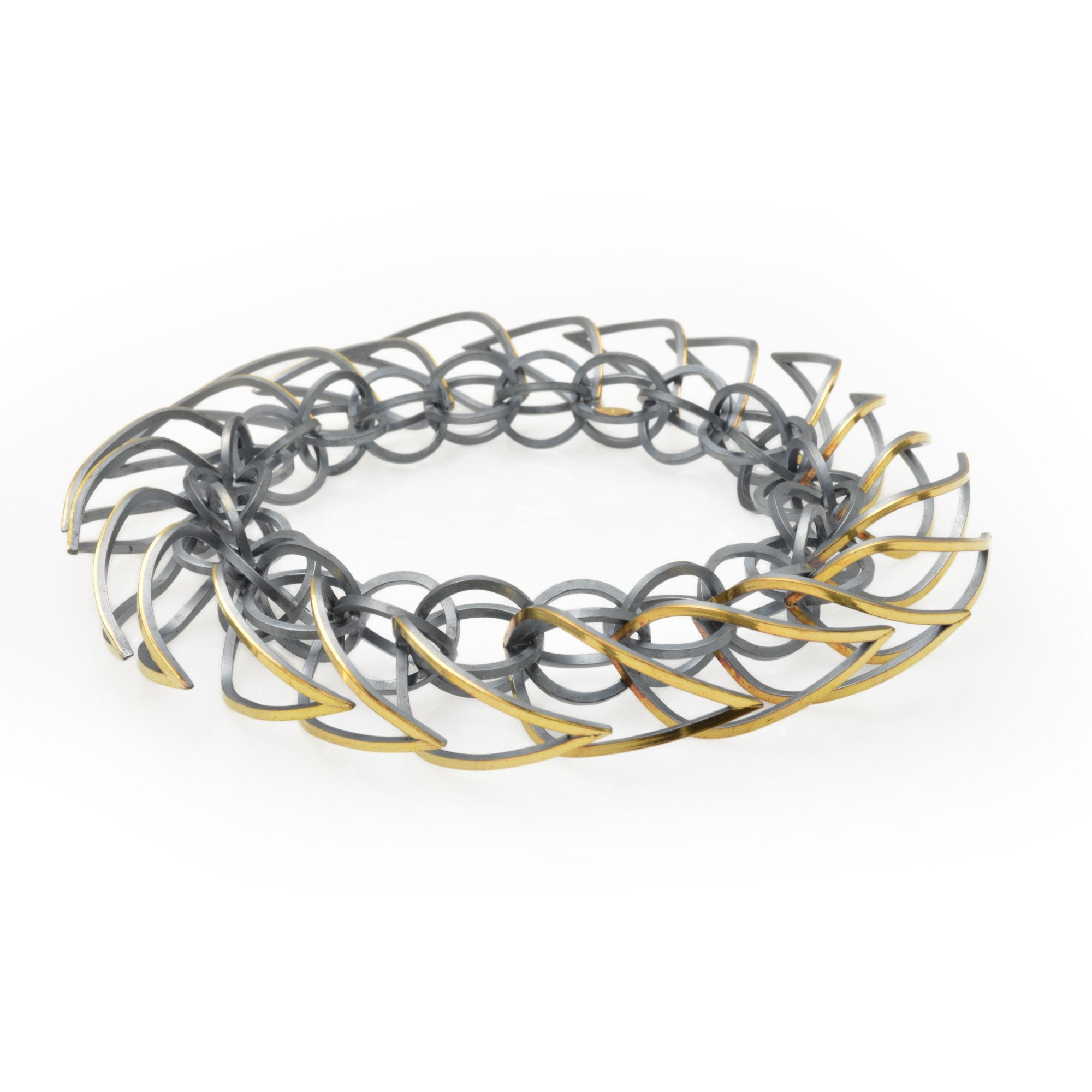 Tighra Bracelet Gold and Black