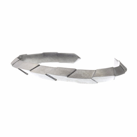 Hephaistos Cuff Bracelet in Sterling Silver