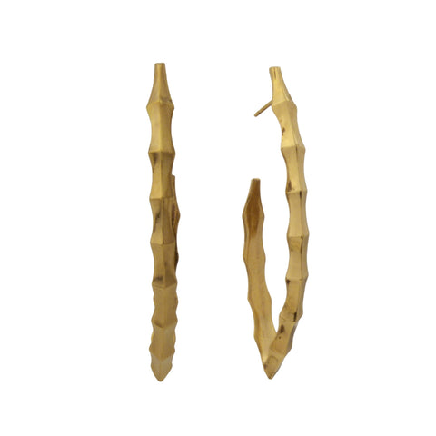 Ibex Hoop Earrings in 18k gold