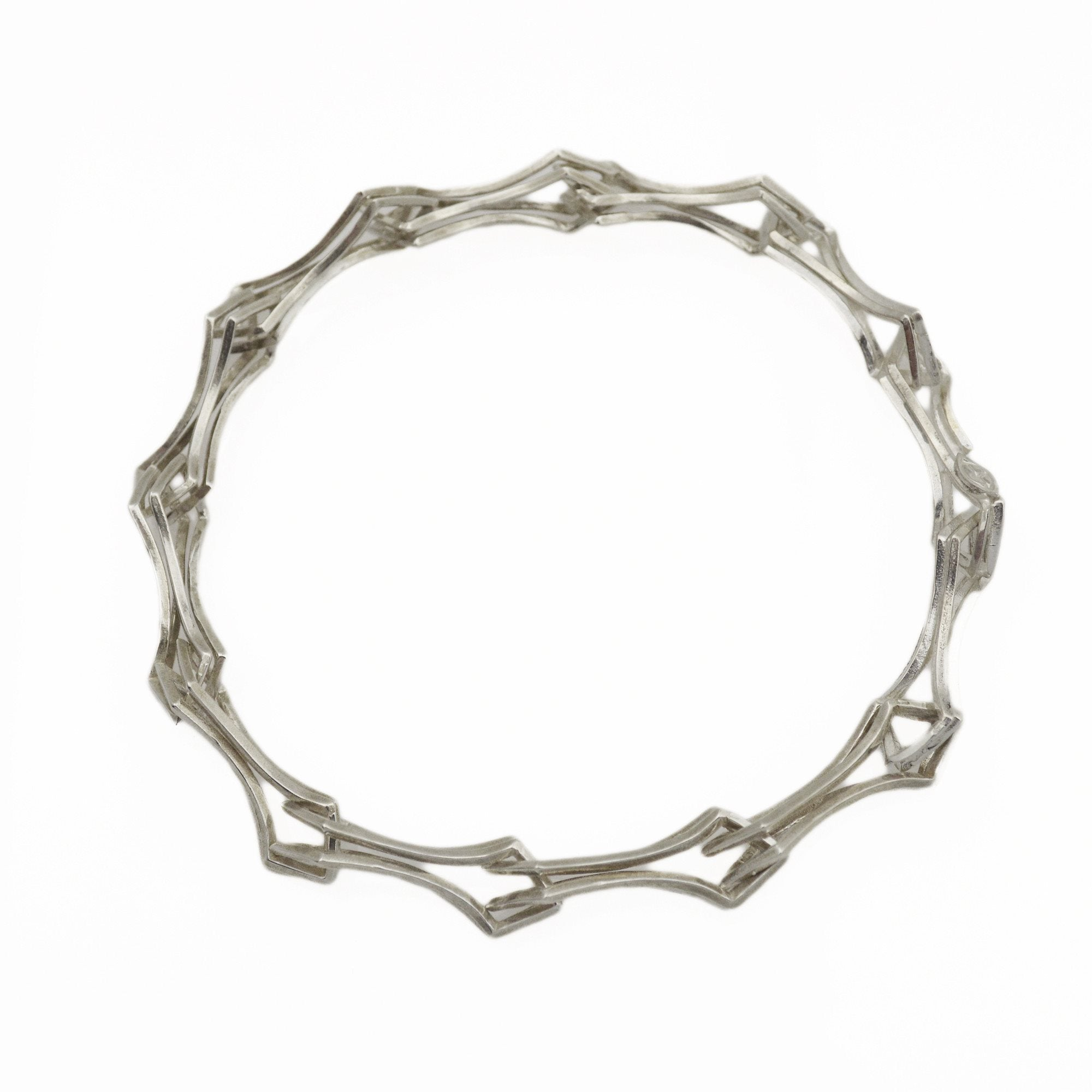 rhodium cheap linked bracelet monday product vitruta