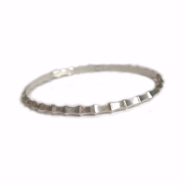 Ibex Bangle Bracelet in Sterling Silver
