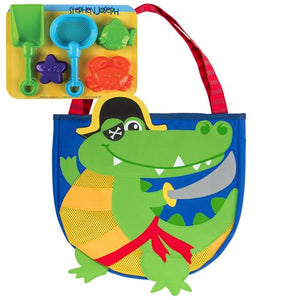 Beach Tote with Sand Toys