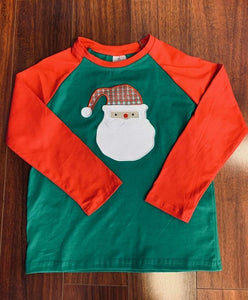 Santa Applique Tee