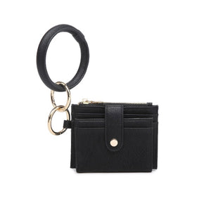 Mini Snap Wallet with O Ring