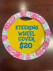 Paisley Steering Wheel Cover