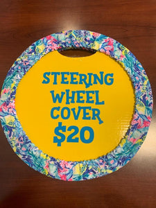 Island Reef Steering Wheel Cover