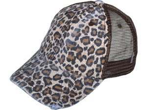 Leopard Trucker Hat