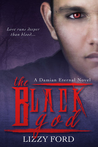 The Black God (#2 Damian Eternal) Autographed Paperback