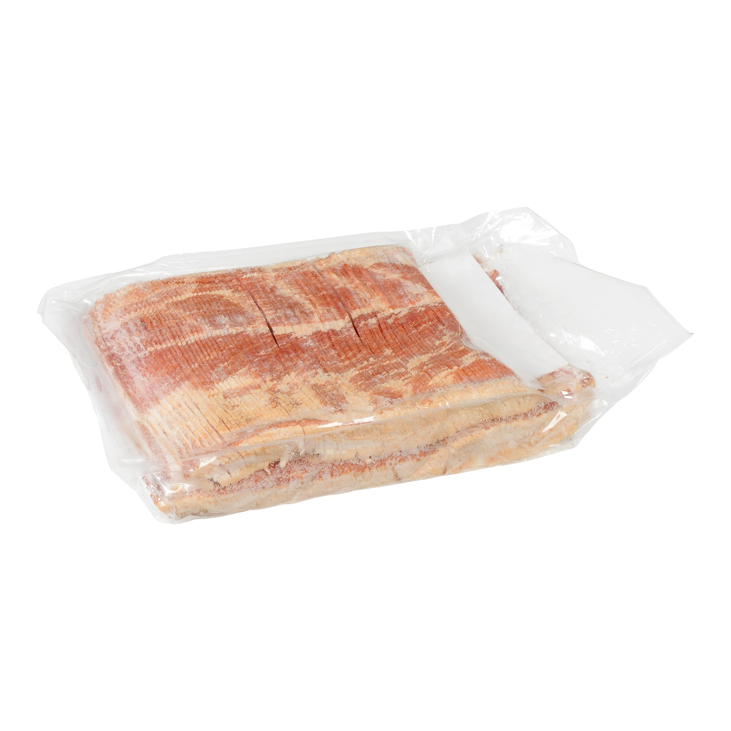 Sysco Classic Fresh Applewood Smoked Centre Cut Medium Sliced Bacon 5 kg - 1 Pack [$13.60/kg]