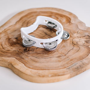 Baby Noise | Mini White Tambourine