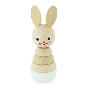 Wooden Rabbit Stacking Puzzle Bonnie - Small 12cms